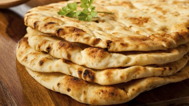 Square naan