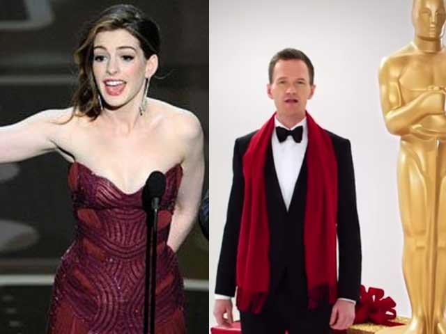 Anne Hathaway Has Oscar Hosting Advice For Neil Patrick Harris
