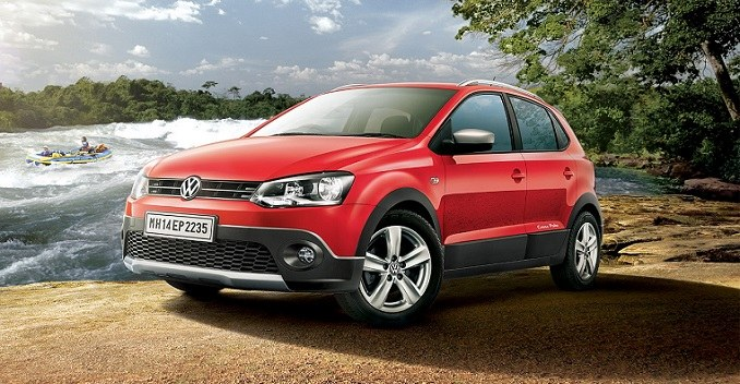 volkswagen cross polo petrol launched at rs lakh ndtv carandbike. Black Bedroom Furniture Sets. Home Design Ideas