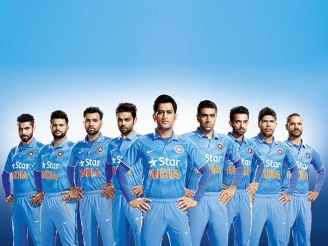 मेलबर्न में जारी हुई टीम इंडिया की वर्ल्डकप जर्सी