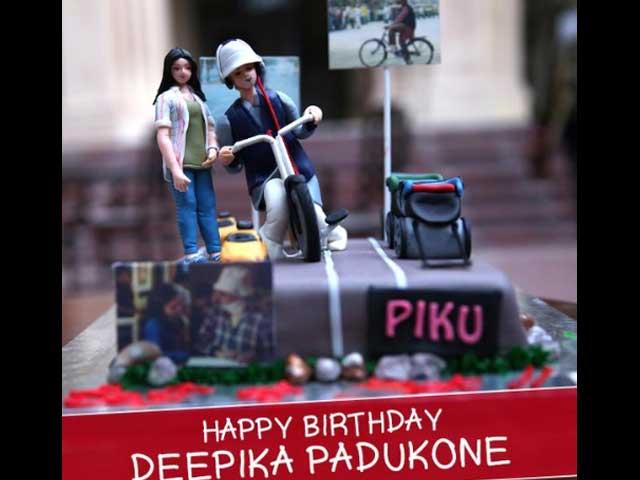 For Birthday Girl Deepika Padukone, a Piku-Themed Cake