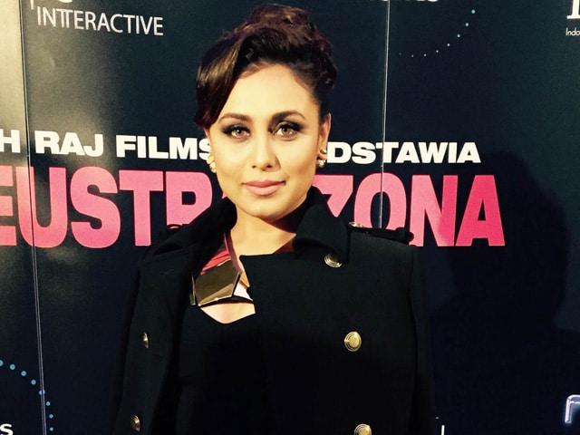 Rani Mukerji's 'Special Day': Poland Welcomes Mardaani