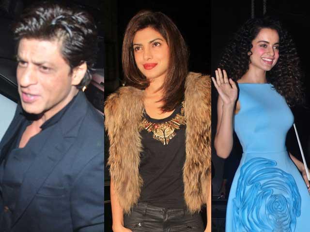 Sanjay Leela Bhansali Parties With His Devdas Shah Rukh Khan