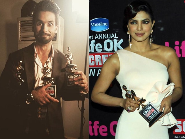 Screen Awards 2015: Shahid Kapoor, Priyanka Chopra Win Top Honours