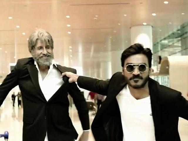 Amitabh Bachchan: Dhanush Wonderful Choice For Shamitabh