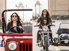 Sonam Kapoor, a Lover of Mean Machines, in <i>Dolly Ki Doli</i>