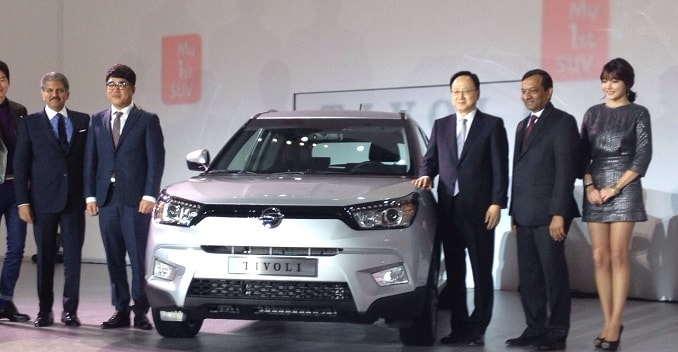 SsangYong Tivoli Compact SUV Launched in Korea
