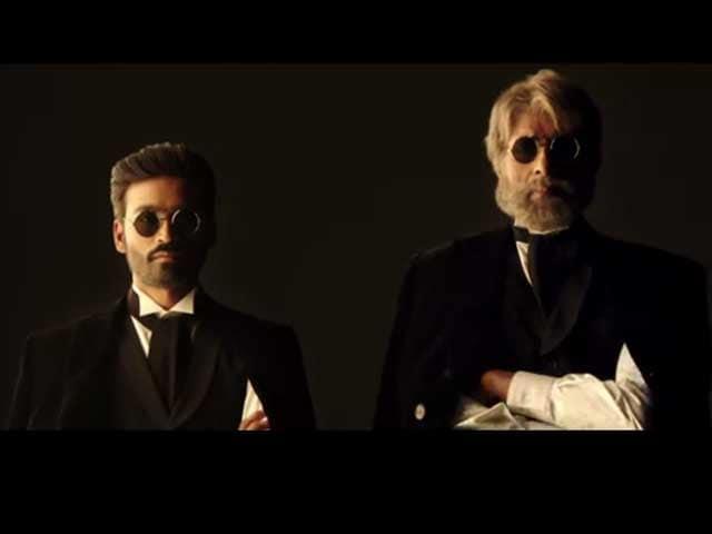 Shamitabh Trailer: Amitabh Bachchan, Dhanush Compete for Supremacy