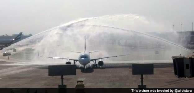 Tata Airlines Reborn as Vistara Takes to Skies