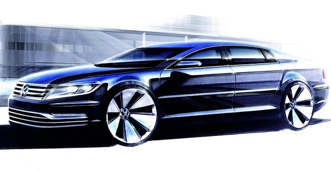 New-Gen Volkswagen Phaeton Might Be More Comfortable than Mercedes S-Class?