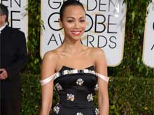 Zoe Saldana Skips Golden Globes For Her Twins