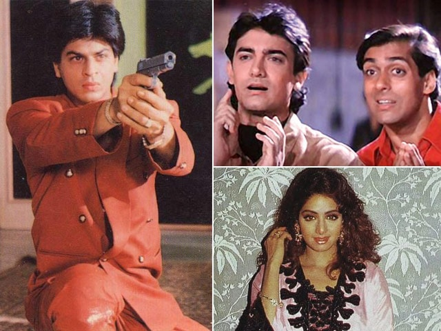 It's 1994 Again. Shah Rukh, Salman, Sridevi, Then and Now