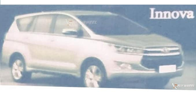 New-Generation Toyota Innova's Picture Leaked