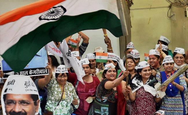 Over 1 Million Joined AAP Within 24 Hours Of Delhi Win, Claims Party