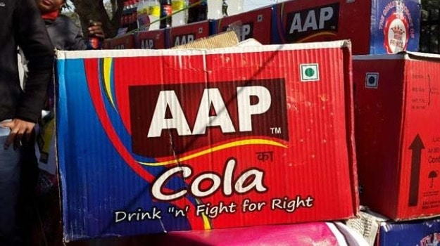 Now, an AAP Cola, a Drink for the 'Aam Aadmi'