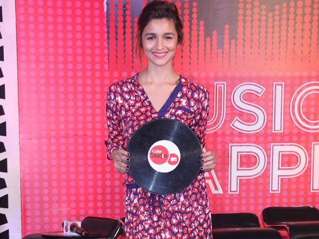 Alia Bhatt: In Coke Studio, Producers Create Music for Themselves