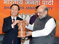Senior Chinese Communist Party Official Meets BJP President Amit Shah
