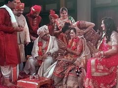 BJP's Delhi Defeat Casts a Shadow on a Wedding in Ahmedabad