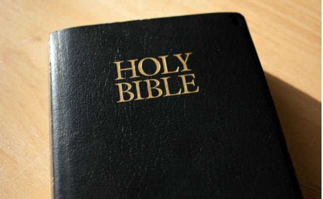 Look out for a Conviction and not just Words from the Bible