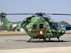 Army Helicopter Crash-Lands In Jammu And Kashmir