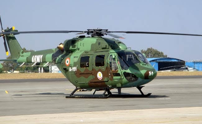 Hindustan Aeronautics Sign Deal With Army, Navy For 41 Helicopters