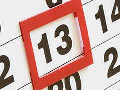 Bad News, It's Friday the 13th. Worse News, There Are Two More Coming Up
