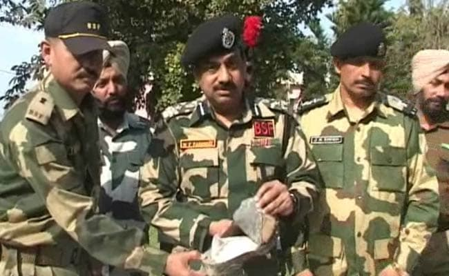 Heroin Hidden in Slipper Seized by Border Security Force