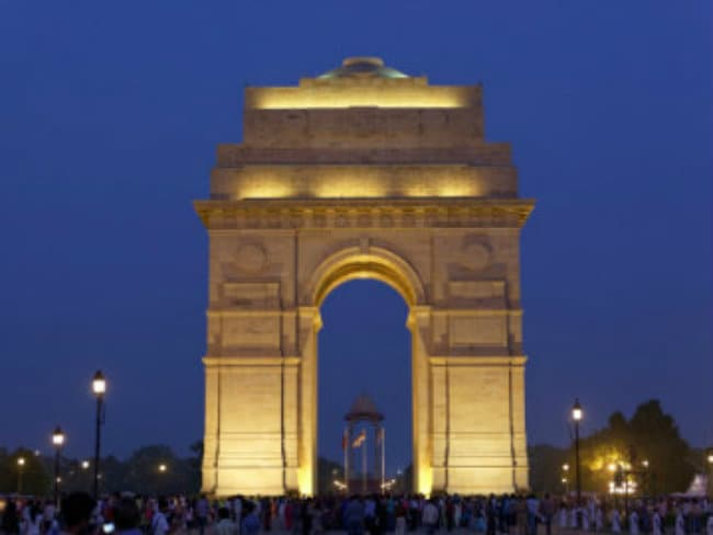 India Gate Live Video Today
