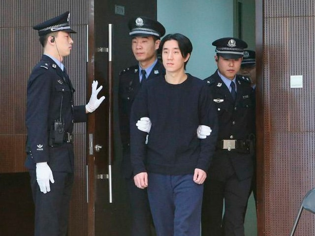Jackie Chan's Son Jaycee Released From Jail
