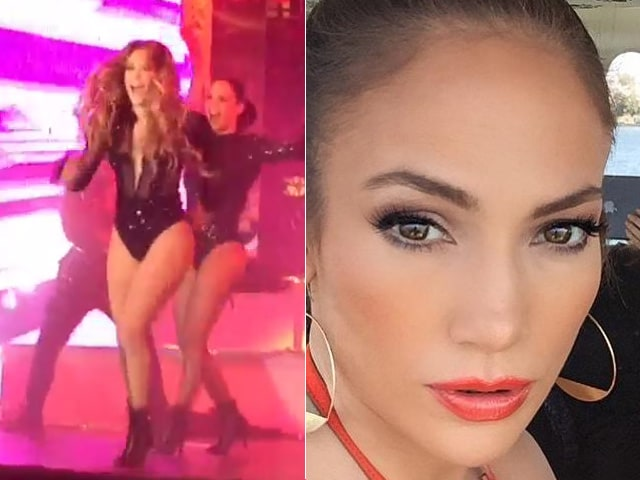 At Sanjay Hinduja's Wedding: Jennifer Lopez Performs, Posts a Selfie