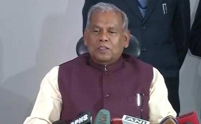 Former Bihar Chief Minister Jitan Manjhi Quits Opposition Grand Alliance