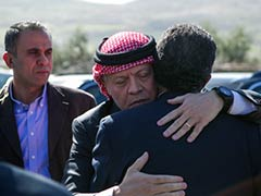 Jordan King Abdullah II Visits Grieving Family of Executed Pilot