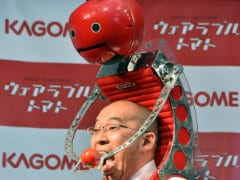 After Google Glass, Apple Watch, Japan Offers Wearable Tomatoes