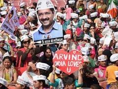 Delhi Results 2020: रुझानों में बहुमत के बाद AAP कार्यालय में जश्न शुरू, बज रहा कैंपेन सॉन्ग 'लगे रहो केजरीवाल'