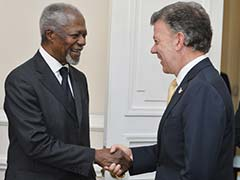Kofi Annan to Boost Colombia Peace Talks in Cuba Visit