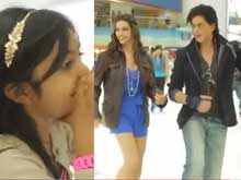 This Happened: Shah Rukh and Deepika Did the <i>Lungi Dance</i> For a Little Fan