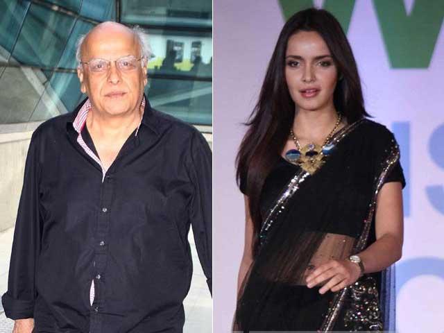 Mahesh Bhatt to Play Shazahn Padamsee's Father Figure in Siddhartha