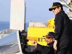 Navy Gives Defence Minister Manohar Parrikar a Glimpse of its Operational Capability