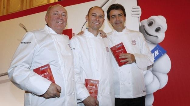 Three Michelin Stars for 'Ledoyen' and 'La Bouitte' in France