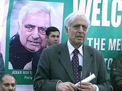 PDP's Mufti Mohammad Sayeed Explains Why BJP is 'The Right Choice'
