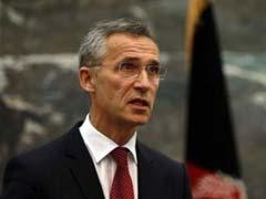 NATO Chief Jens Stoltenberg 'Fully Supports' Ukraine Peace Bid