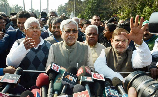 Nitish Kumar's Latest Move To Outwit Estranged Partner Sharad Yadav