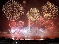 Fireworks and Promotions Mark Late North Korea Leader's Birthday