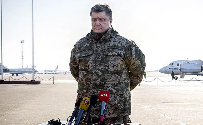 Ukrainian President Petro Poroshenko Accuses Vladimir Putin of Wanting 'Whole of Europe'