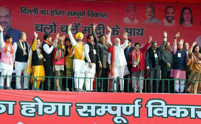 BJP Goes All Out: Roadshows in All 70 Seats in Delhi as Campaigning Ends Today