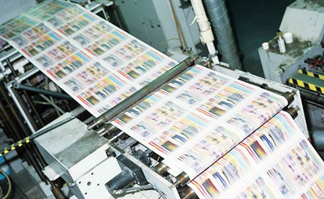 how to run a digital printing press