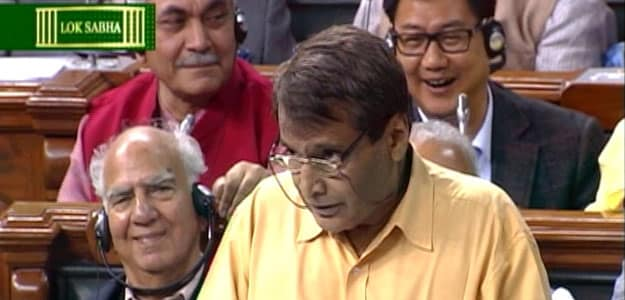 Railway Budget 2015: Suresh Prabhu Proposes Lowest Operating Ratio for Railways in 9 Years