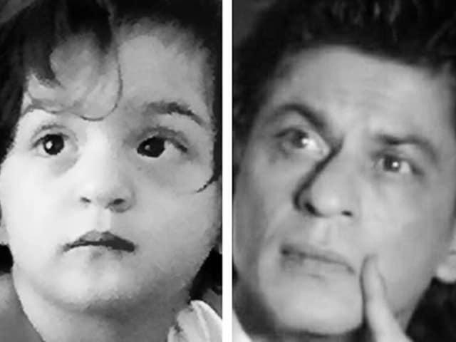 Shah Rukh Khan Tweets Photo of 'Murphy Baby' AbRam