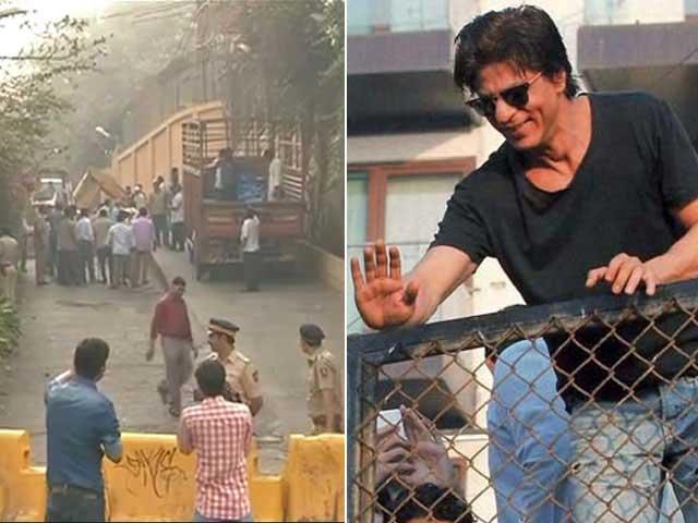 Shah Rukh Khan's One Week is up, Civic Body Demolishes Ramp Outside Mannat
