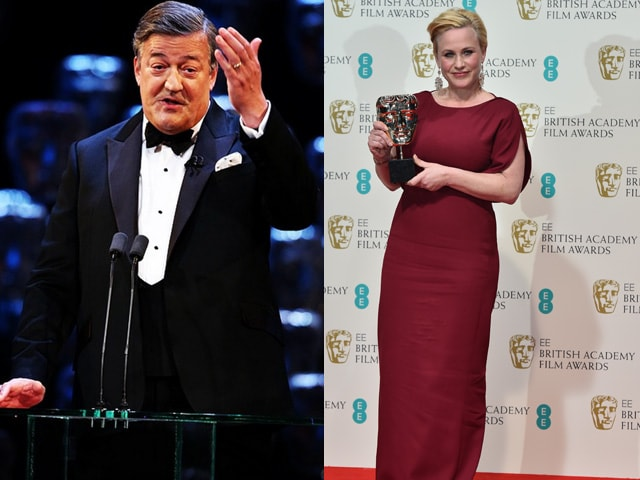 BAFTA Blooper: Get it Right, Stephen Fry. It's Patricia Arquette, Not Her Sister Rosanna